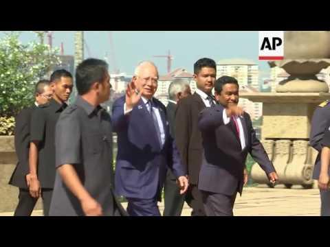 Maldives president visits Malaysia