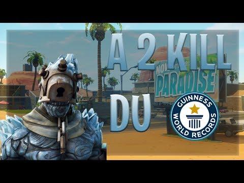 A 2 Kill Du World Record(29KILL)!!!