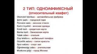 Как строить словосочетания по-турецки