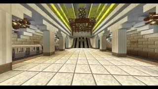 НАСТОЯЩЕЕ МЕТРО В M NECRAFTПРОДОЛЖЕНИЕ Real Underground In Minecraft
