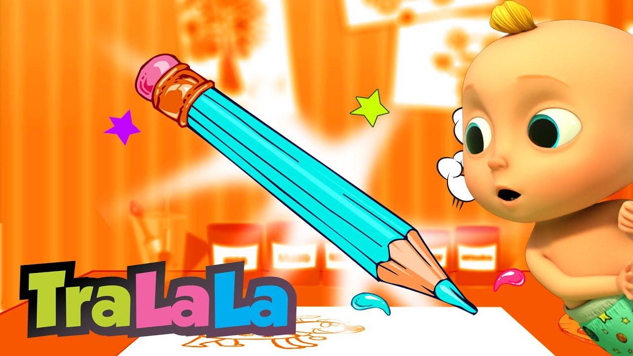 Creionașul fermecat + alte cântece de toamnă pentru copii de grădiniță - TraLaLa
