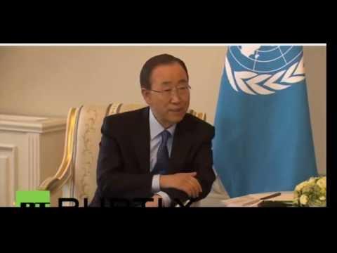June 17, 2016 The UN Secretary General admires Putin