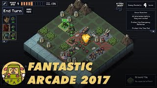 Fantastic Arcade 2017: INTO THE BREACH Developer Commentary with Justin Ma