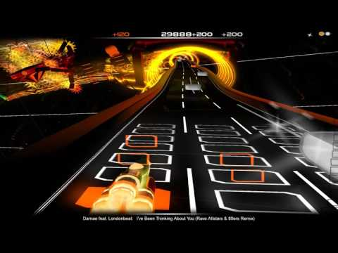 [Audiosurf] Damae Feat. Londonbeat - I've Been Thinking About You (Rave Allstars & 89ers Remix)