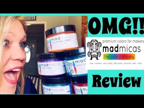 MAD MICAS MICA REVIEW | Soapmaking | Soap Making Supplies | DIY