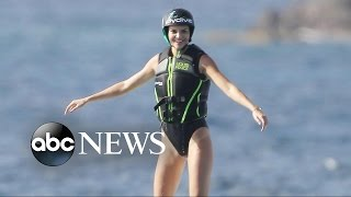 This Flyboard Champ Performs Heart-Stopping Stunts