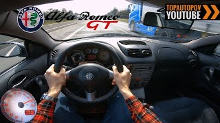 Alfa Romeo GT 1.9JTD (140kW) | 4K TEST Drive POV - Sound, Acceleration, Engine & Brakes...