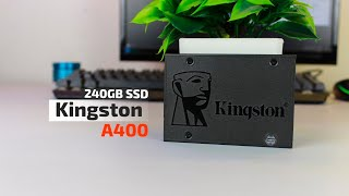 Kingston A400 240GB SSD unboxing Review And Benchmark | Best Budget SSD | October 2018