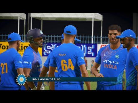 India vs West Indies 2017 - Don Bradman Cricket 17
