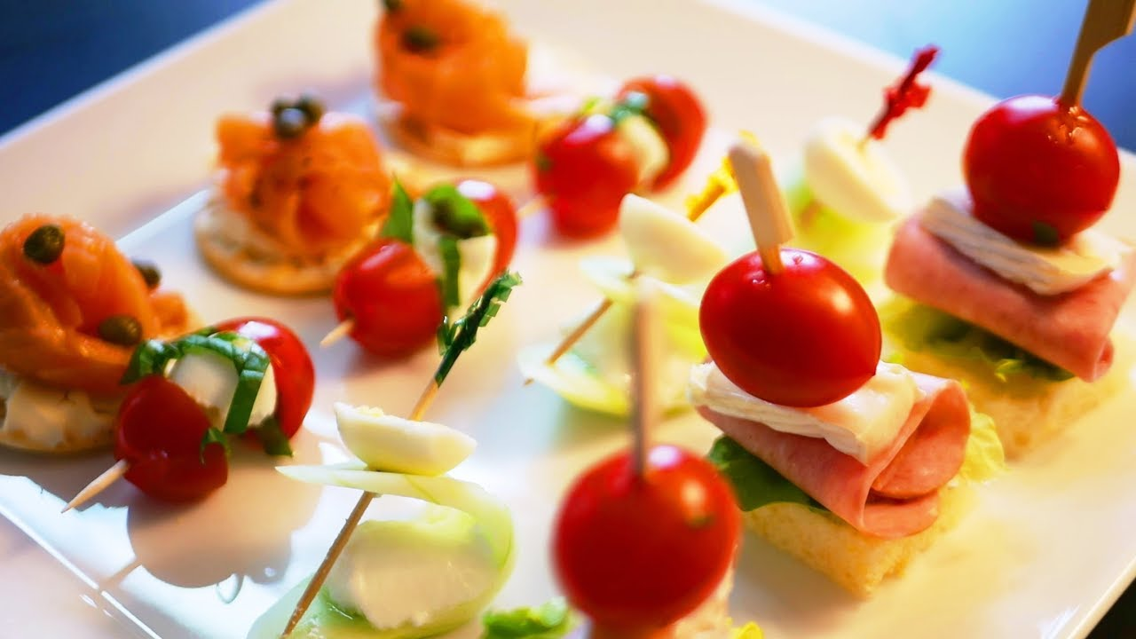4 finger foods canap hors d 39 oeuvre for Canape hors d oeuvres difference