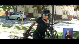 Ciudadana holandesa denuncia acoso callejero a bordo de su bicicleta - CHV NOTICIAS