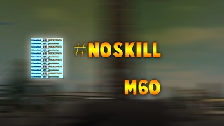 The M60 takes no skill at all | Roblox PF