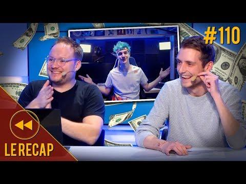 Ninja a reçu 1 million de dollars pour jouer à Apex - Le Recap S3#110