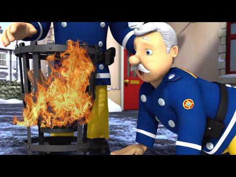 New Fireman Sam 🌟 Chief starts a bonfire! 🔥 ❄️Winter Special 🎄🔥Kids Cartoons