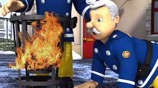 New Fireman Sam 🌟 Chief starts a bonfire! 🔥 ❄️Winter Special 🎄🔥Kids Cartoons