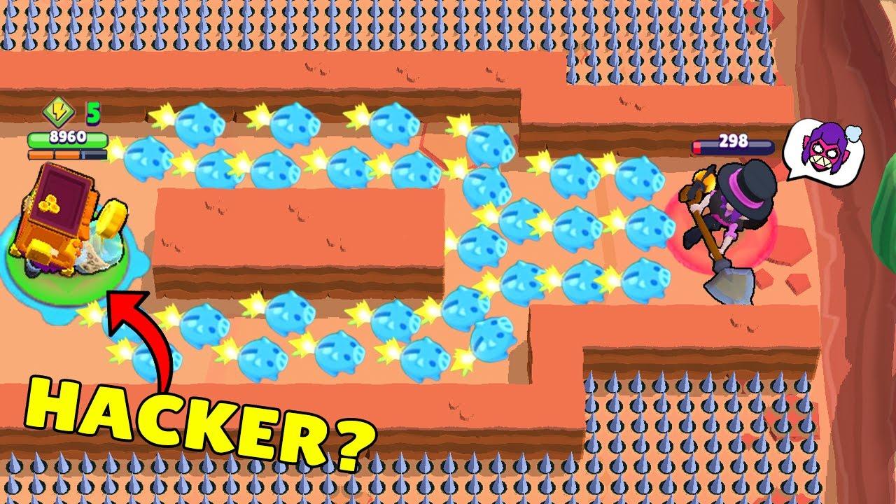 HACKER GRIFF vs UNLUCKY MORTIS! | Brawl Stars Funny Moments & Glitches & Fails #503
