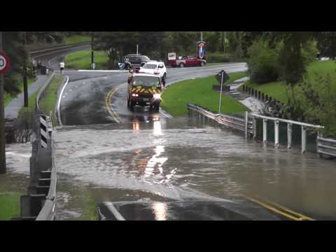 Flooding in West Auckland 12-03-2017