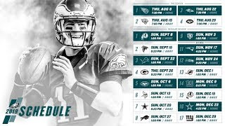 Eagles Fan Reacting To The Philadelphia Eagles 2019 NFL Schedule