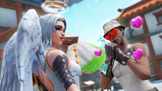 i played fortnite with my DREAM GIRL (she's so brave and talented)