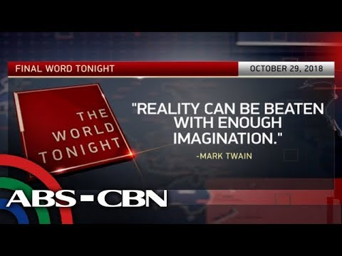 The World Tonight: The Final Word | October 29, 2018