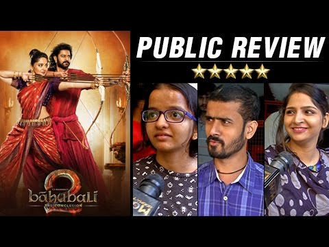 Thumbnail: Baahubali 2 The Conclusion PUBLIC RVIEW | First Day First Show