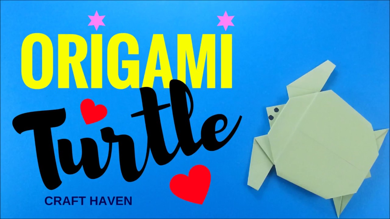 Easy Origami Turtle - Tutorial - How to make an easy origami ... | 720x1280