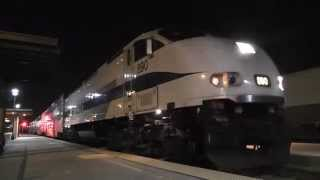 Metrolink 16 Cars Special to Caltrain