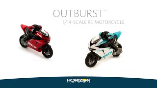ECX 1/14-scale Outburst Motorcycle