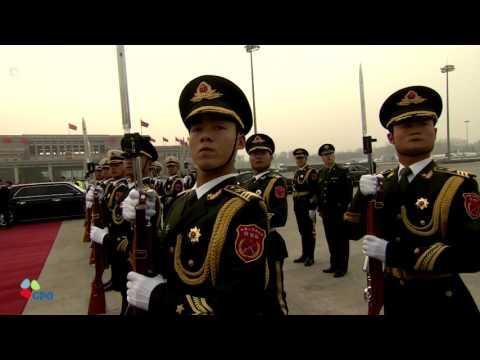 PM Netanyahu Arrives in China