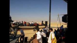 حفل لطيفة ومحمد الحلو وغادة رجب فى أول موقع حفر بقناة السويس الجديدة أغسطس 2014