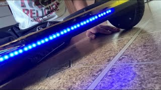 UNBOXING HOVERBOARD!! *gold*