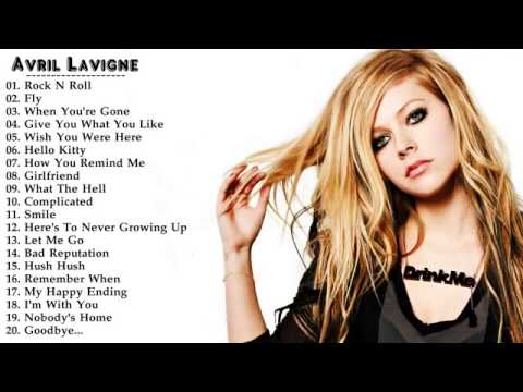 Top Tracks - Avril Lavigne - YouTube
