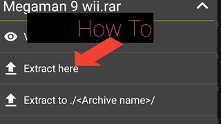 How To Extract 7z files on Android Device