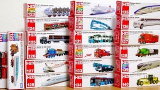 Tomica N0.121 - 140 | Thomas | Construction vehicle | Bullet train | Car carrier Longminicar thumbnail