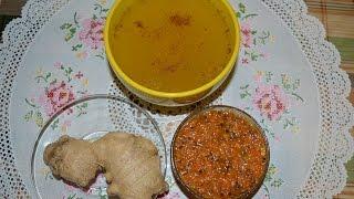Имбирный чай с облепихой и корицей.  Витаминный противопростудный напиток