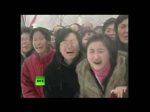 I put spongebob music over Kim Jong-il's funeral