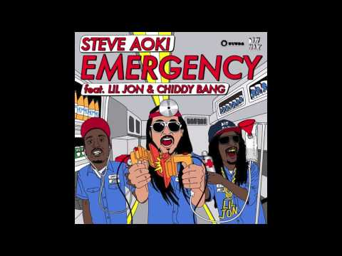 Steve Aoki - Emergency ft. Lil Jon & Chiddy Bang (Evil Genius Remix by DJ Green Lantern)