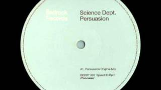 Science Dept. - Persuasion