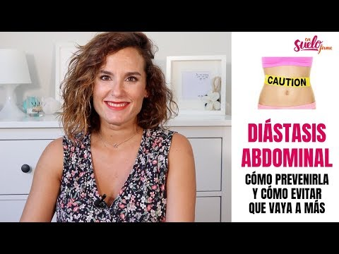 distension abdominal tras embarazo