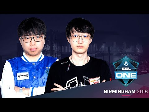 Dota 2 - Newbee vs. LFY - Game 3 - Group C Elimination Match - ESL One Birmingham 2018 Day 1