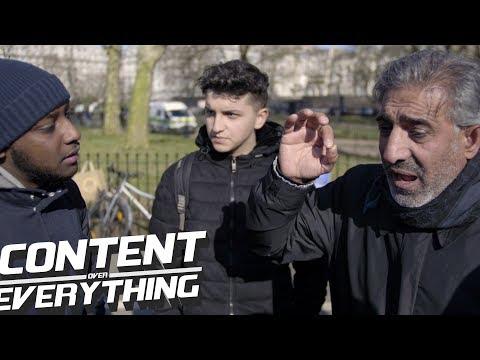 Discussing Violence In The Park - Steve, Mahmoud, Alex & Sadiq | Speakers Corner Hyde Park