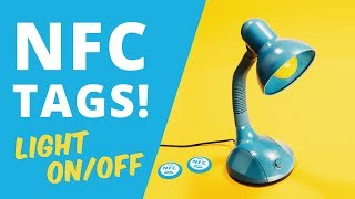 Gambar cover Control Your Home with NFC Tags | How to turn lights on/off