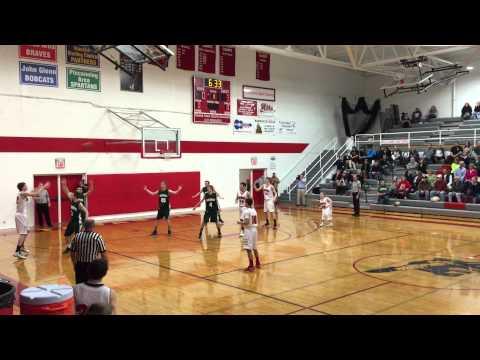Ian's 3 ball Tawas Area High School 3/7/15