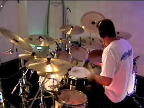 Never Too Late by Three Days Grace drum cover by Rich Martin - YouTube