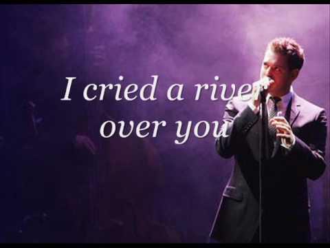 Michael Buble - Cry Me a River Lyrics