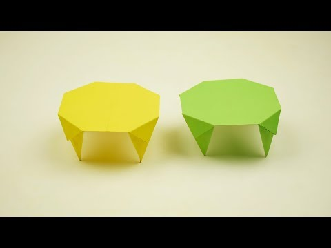 DIY Craft Paper : Make Paper Table | How to Make Amazing Paper Table | Paper Table without Glue