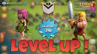 ROAD TO LEVEL 300 HDV 9 | Level 210 UP ! [clash Of Clans FR]