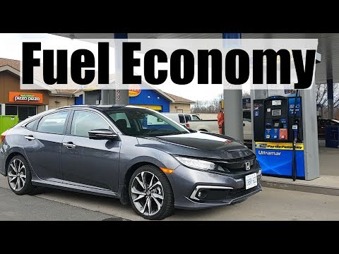 2020 Honda Civic - Fuel Economy MPG Review + Fill Up Costs