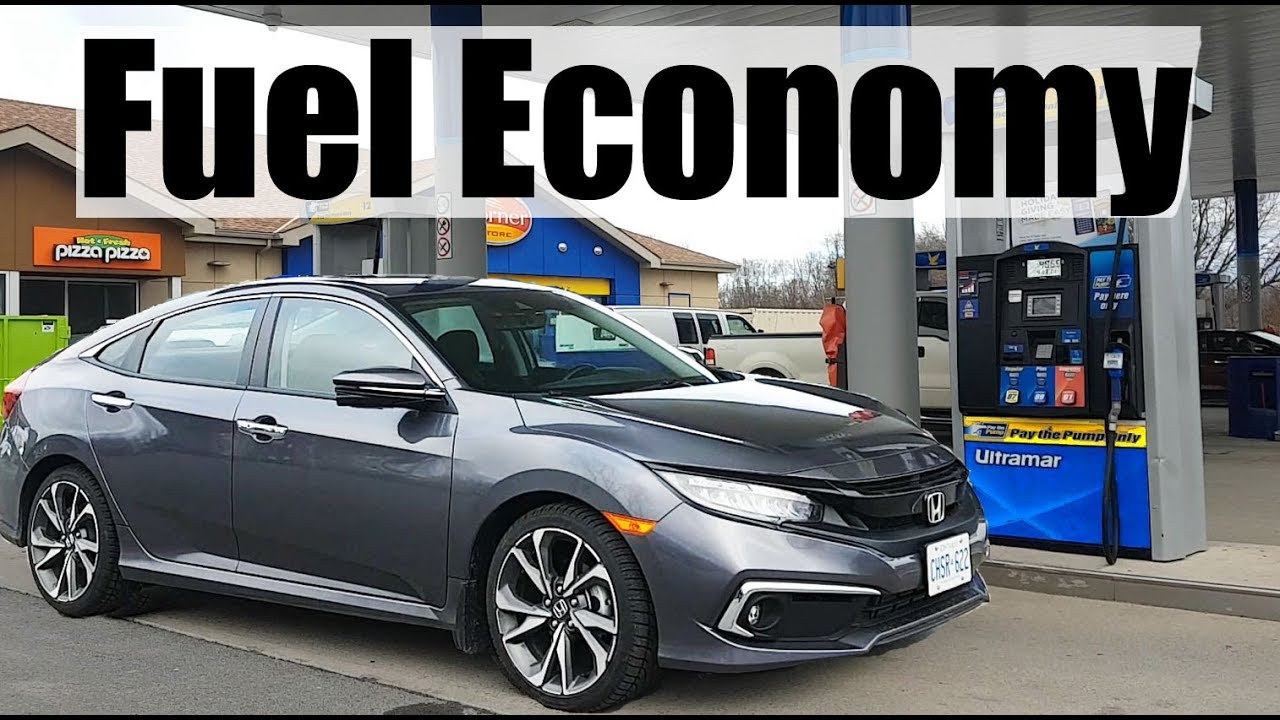 2021 Honda Civic Fuel Economy Mpg Review Fill Up Costs Youtube