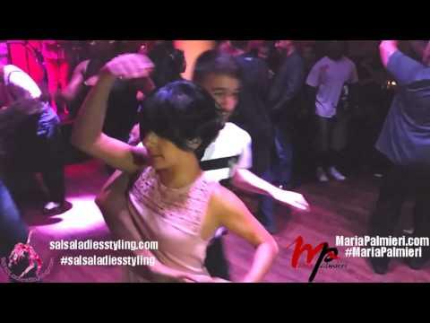 Maria Palmieri & Erik Lopez Salsa Dancing New York City